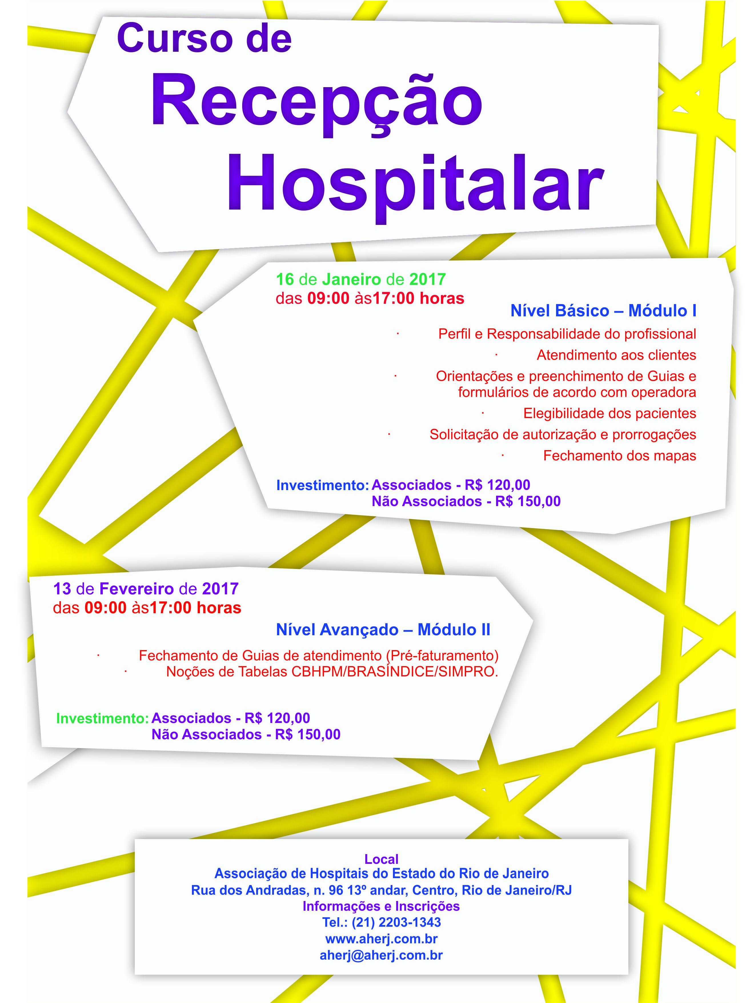Curso qualidade hospitalar